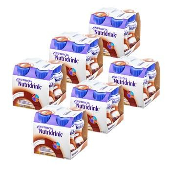 Zestaw 6x Nutridrink, smak czekoladowy, płyn, 4 x 125 ml