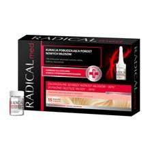 Radical Med, kuracja pobudzająca porost nowych włosów, 5 ml, 15 ampułek