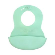 Baby Ono, śliniak miękki z regulowanym zapięciem, 6m+, 1 szt.