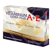 Vitaminum A + E Extra Plus, tabletki, 30 szt.