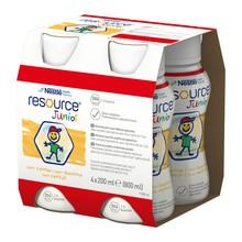 Resource Junior, płyn o smaku waniliowym, 4 x 200 ml