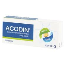 Acodin, 15 mg, tabletki, 20 szt.