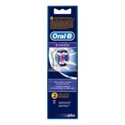 Oral-B 3D White, końcówki wymienne do szczoteczek do zębów, 2 szt.
