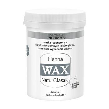 WAX ang PILOMAX NaturClassic Wax Henna, maska do włosów zniszczonych i ciemnych, 240 ml