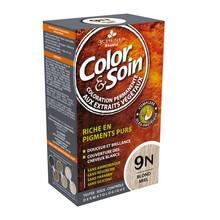 Color&Soin, farba do włosów, blond miodowy (9N), 135 ml