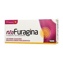 NeoFuragina, 50 mg, tabletki, 30 szt.