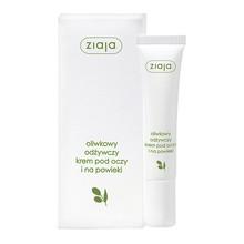 Ziaja, naturalny oliwkowy odżywczy krem pod oczy i na powieki, 15 ml