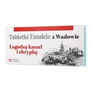 Tabletki Emskie z Wadowic, tabletki do ssania, 12 szt.