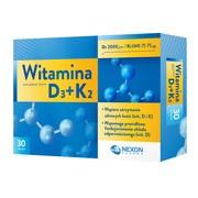 Witamina D3+K2, tabletki, 30 szt.