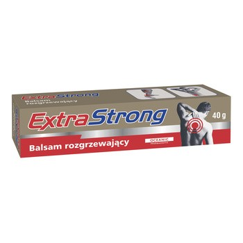 Extra Strong, balsam rozgrzewający, 40 g