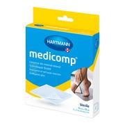 Medicomp, kompresy jałowe, włókninowe, 4 warstwowe, 10 x 10 cm, 10 szt.