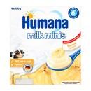 Humana Milk Minis Deserek, jogurtowy o smaku bananowym, 6 m+, 4 x 100 g