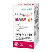 Lactoangin Baby, spray do gardła, smak malinowy, 30 g