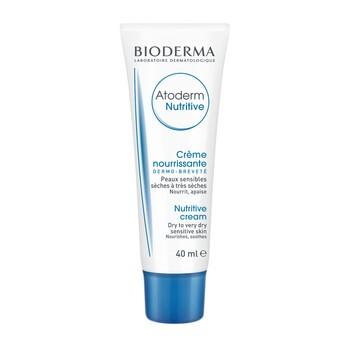 Bioderma Atoderm Nutritive, odżywczy krem do skóry suchej, bardzo suchej i osłabionej, 40 ml