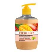 Fresh Juice, kremowe mydło w płynie, mango & carambola z olejkiem kameliowym, 460 ml