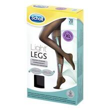 Scholl Light Legs, rajstopy uciskowe, cienkie, rozmiar XL, czarne