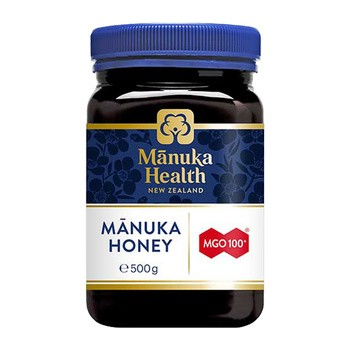 Miód Manuka MGO 100+, nektarowy, 500g