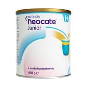 Neocate Junior, proszek o smaku truskawkowym, 400 g