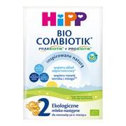 HiPP 2 BIO Combiotik, mleko następne, 6 m+, proszek,  27 g