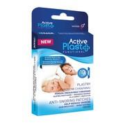 Active Plast Functional, plastry przeciw chrapaniu, 10 szt.