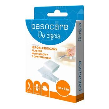 Pasocare Soft Plus, plaster włókninowy z opatrunkiem, 1 m x 6 cm, 1 szt.