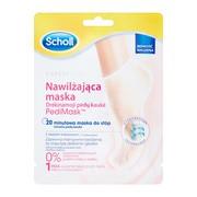 Scholl PediMask, Nawilżająca maska z olejkiem kokosowym, 1 para (skarpetki)
