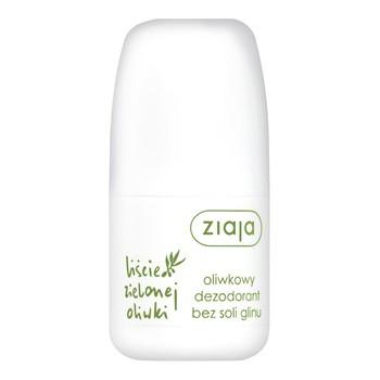 Ziaja Liście Zielonej Oliwki, oliwkowy dezodorant bez soli glinu, 60 ml
