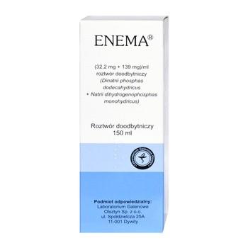 Enema, roztwór doodbytniczy, 150 ml