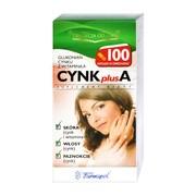 Cynk Plus A, kapsułki twarde, 100 szt.