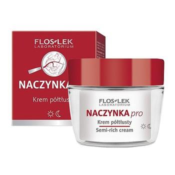 FlosLek Laboratorium Naczynka Pro, krem nawilżający, 50 ml