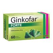 Ginkofar forte, 80 mg, tabletki powlekane, 60 szt.