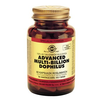 Solgar Advanced Multi-Billion Dophilus, kapsułki, 60 szt.