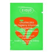 Ziaja Intima, chusteczka do higieny intymnej, nagietek, 1 szt., 7 ml