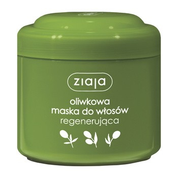 Ziaja, naturalna oliwkowa maska do włosów, regenerująca, 200 ml