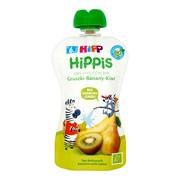 HiPP HiPPiS BIO, mus gruszki, banany, kiwi, po 6. miesiącu, 100 g