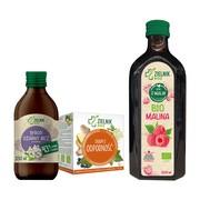 Zestaw Zadbaj o odporność (sok + herbata + syrop)