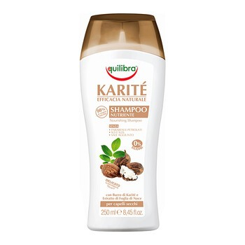 Equilibra Naturale, szampon intensywnie nawilżający z masłem Shea, 250 ml