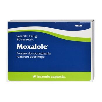 Moxalole, proszek do sporządzania roztworu doustnego, 20 saszetek