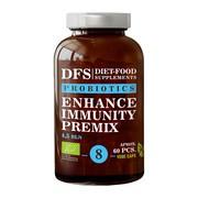 Diet-Food, Probiotics Enhance Immunity Premix, kapsułki, 60 szt.