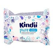Cleanic Kindii Pure Sensitive, chusteczki dla niemowląt i dzieci, 16 szt.
