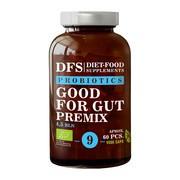Diet-Food, Probiotics Good For Gut Premix, kapsułki, 60 szt.