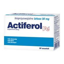 Actiferol Fe, 30 mg, proszek do rozpuszczenia w saszetkach, 30 szt.