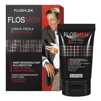 FlosLek Laboratorium Men, krem regeneracyjny przeciwzmarszczkowy dla mężczyzn, 50 ml