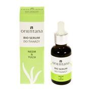 Orientana Bio, serum do twarzy, neem & tulsi, 30 ml