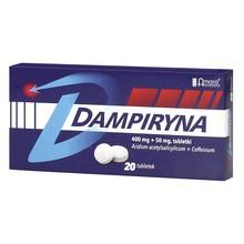 Dampiryna, 400 mg + 50 mg, tabletki, 20 szt.