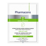 Pharmaceris T Sebo-Acti Mask, hydro-żelowa maska normalizująca, 1 szt.