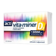 Acti Vita-miner D3, tabletki, 60 szt.