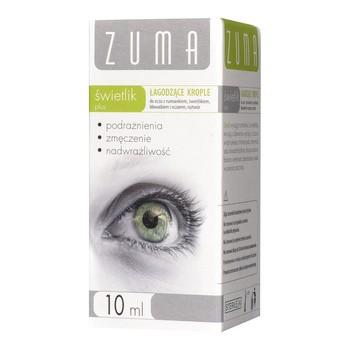 Zuma świetlik plus, łagodzące krople do oczu, 10 ml