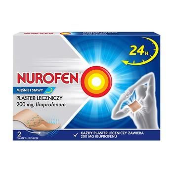 Nurofen Mięśnie i Stawy, 200 mg, plastry lecznicze, 2 szt.
