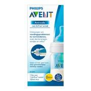 Avent Anti-colic, butelka do karmienia z nakładką AirFree, 125 ml, 1 szt.
